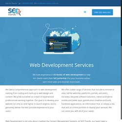 Web Development Services - SEO Trends Melbourne
