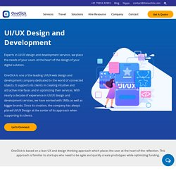UI/UX Design and Development Services in USA, Mobile and Product UI Design Expert