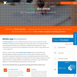 iPhone, Android, Windows Application Development