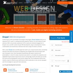 Drupal Web Development Company – Xtreem Solution