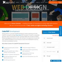 CakePHP Development Company – Xtreem Solution