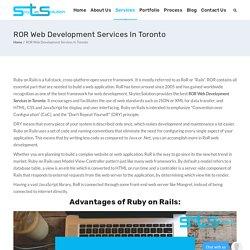 ROR Web Development Services In Toronto