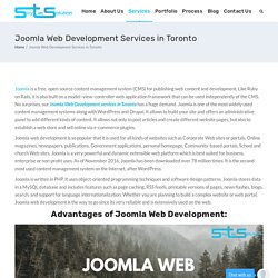 Joomla Web Development Services In Toronto