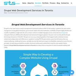 Drupal Web Development Services In Toronto