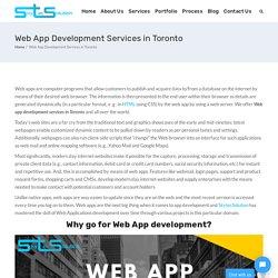 Web App Development Services In Toronto