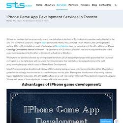 Iphone Game App Development Services In Toronto