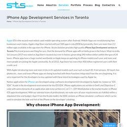 Iphone App Development Services In Toronto