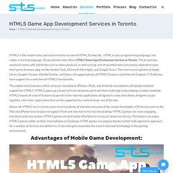 Html5 Game App Development Services In Toronto
