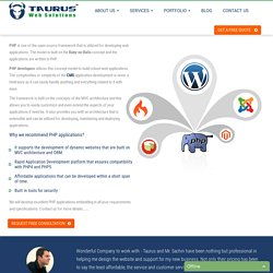 PHP Web Development Services Company India- Taurus Web Solutions