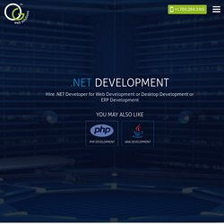 .NET Development Services – OG Web Solutions