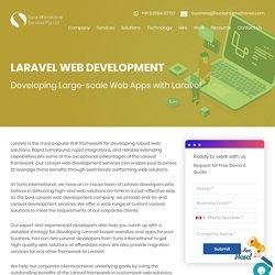 Laravel Web Development Company In Singapore & UK, Hire Laravel Developer