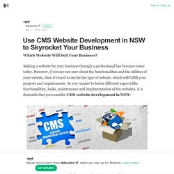 CMS Website Development in NSW to Skyrocket Your Business