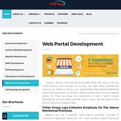 Web Portal Design & Web Development Software Services Company