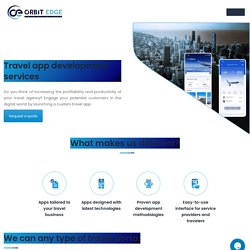 Travel App Development Company