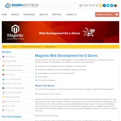 Magento Website Design & Development by Specialist Developers