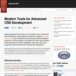 Modern Tools for Advanced CSS Development