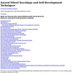 Sacred Wheel Teachings and Self-Development Techniques by Swiftdeer