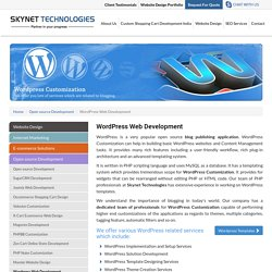 Wordpress Development Services - Skynet Technologies