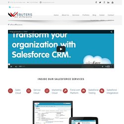Salesforce Development, Salesforce Integration, Salesforce Consulting