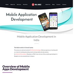Mobile App Developers In Bangalore- Brill Mindz Technologies