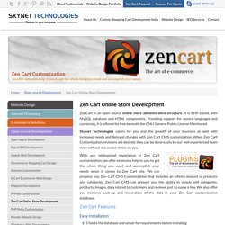 Zen Cart Development India