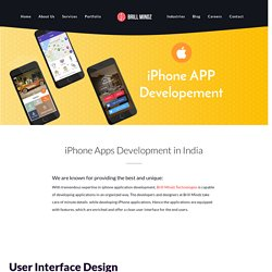iphone Application Development In Bangalore- Brill Mindz Technologies