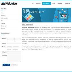 Affordable Web Development Services