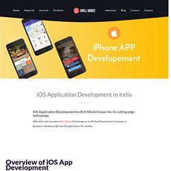 iOS Application Development In Bangalore- Brill Mindz Technologies