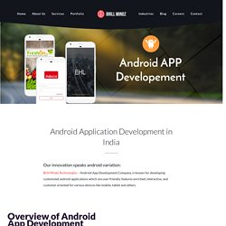 Android App Development Company In Bangalore- Brill Mindz Technologies