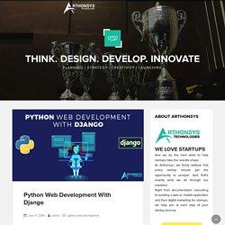 Python Web Development with Django - Arthonsys Technologies