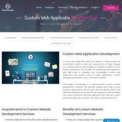 Custom Web Development-Technogrips Technologies