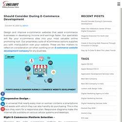 Best E-Commerce Website Development Agency