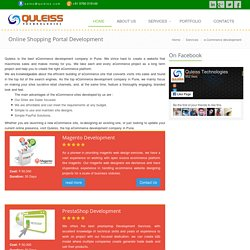 Ecommerce development company Pune