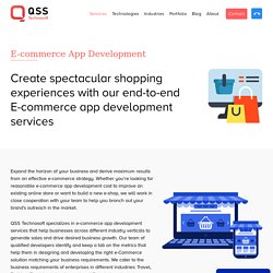 Affordable eCommerce App Development Solution in USA