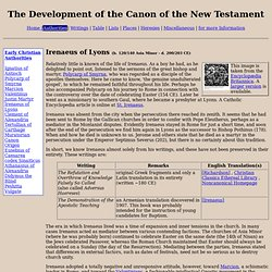 development of the canon of christianity A christian biblical canon is the set of books that a particular christian denomination or denominational family regards as being divinely inspired and thus constituting an authorised christian bible.