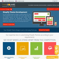 Shopify Theme Development Services