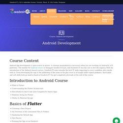 Best Android Development training centre in Durgapur