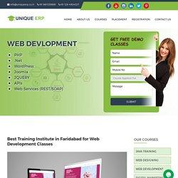 Web Development Classes, Web Development Training in Faridabad