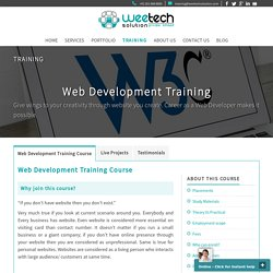 Web Development Training Institute in Surat
