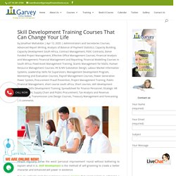 Skill Development Training Courses That Can Change Your Life - Short Courses in South Africa by Garvey Africa Institute