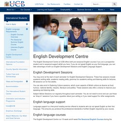 English Development Centre - University College Birmingham