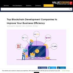 Top Blockchain Technology Development Companies List
