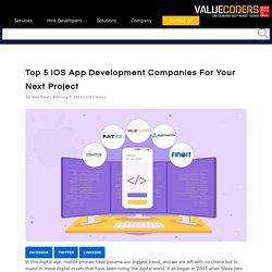 Top 5 iOS & iPhone App Development Companies List 2021