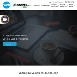 Joomla Web Design Services Melbourne