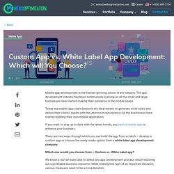 Top White Label App development company in India