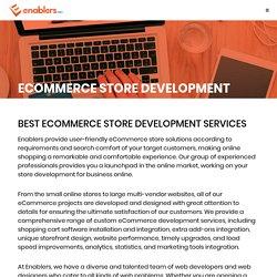 Enablers Ecommerce Store Development