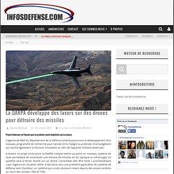 La DARPA développe des lasers sur des drones pour détruire des missiles