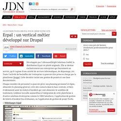 Erpal : un vertical métier développé sur Drupal : 10 distributions Drupal pour créer votre site