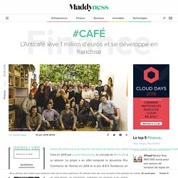#Café : L'Anticafé lève 1 million d'euros et se développe en franchise - Maddyness