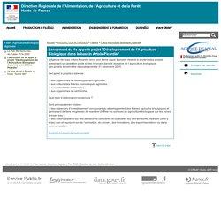 """DRAAF HAUTS DE FRANCE 11/10/16 Lancement du 4e appel à projet """"Développement de l'Agriculture Biologique dans le bassin Artois-Picardie"""""""